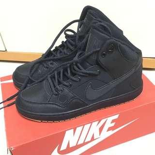 Nike Air Force Mid (日本) 全黑黃底