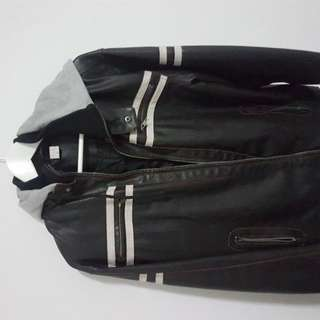 Hoodie Leather Jacket #FreePostage Special