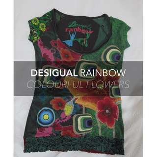 Desigual RAINBOW Collection - Colourful Flowers