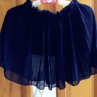 日系雪紡短裙(不含運)