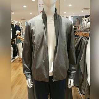 Uniqlo Men's Dry Sweat Olive Green Jacket