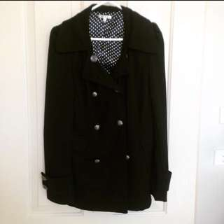 Valleygirl Black Coat