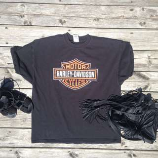 Harley Davidson T-Shirt Dress