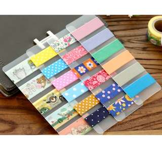 ✨Make Your Own Washi Tape Samples (Frosted PVC Card)✨