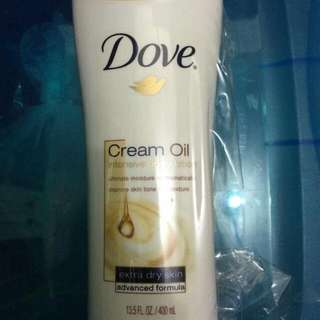 Half the price promo!!! Dove Intensive Body Oil Cream Lotion
