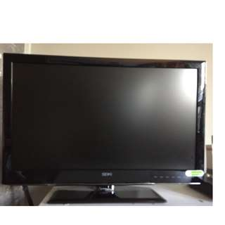 flat screen Seiki television