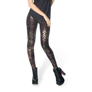 Black Milk Crocodile Leggings Size XS