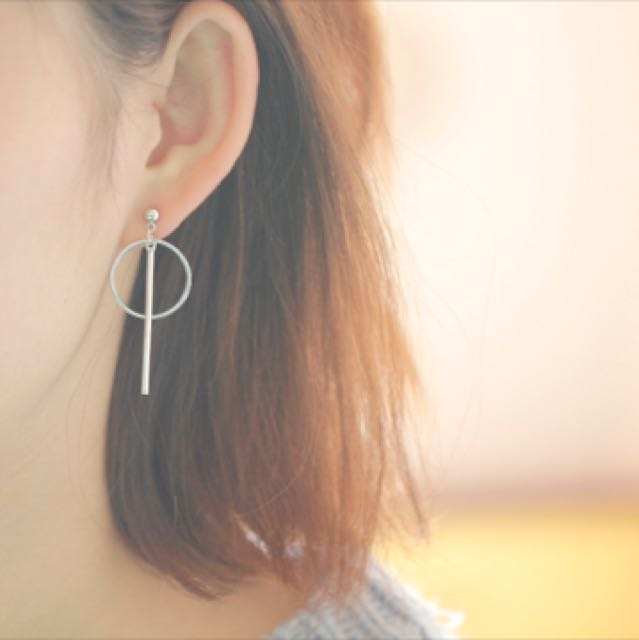 earrings rod pink product p multi pm