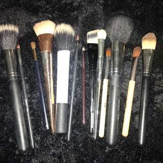 Assorted Makeup Brushes