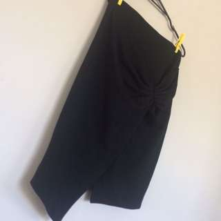 ASOS Black split Skirt