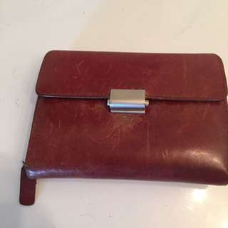 Vintage Small Leather Wallet
