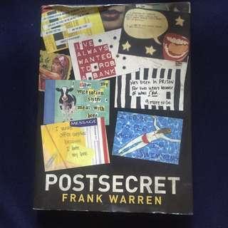 Book: Post Secret by Frank Warren