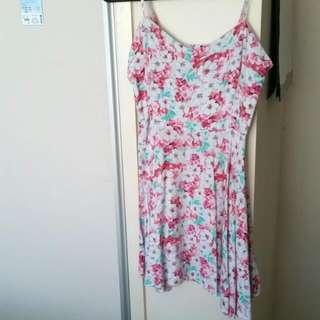 factorie pink floral dress