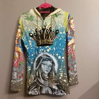 Christian Audigier Hoddie Small