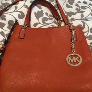 Michael Kors Burnt Orange Purse
