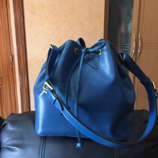 Louis Vuitton Epi Bucket Bag, Authentic With Date Code...