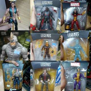 Marvel Legends and Select For Sale Check Individual Prices
