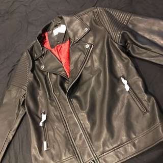 Saint Morta Leather Jacket