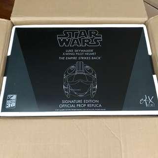 eFX Star Wars Luke Skywalker ESB X-Wing Helmet Celebration V Exclusive Signature Edition 203/250 Rare BNIB