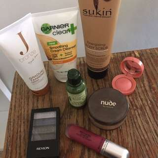 SKINCARE MAKEUP BUNDLE