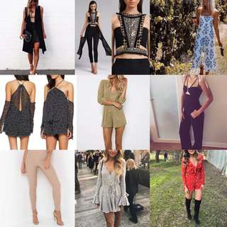 CLOTHES FOR HIRE!!!