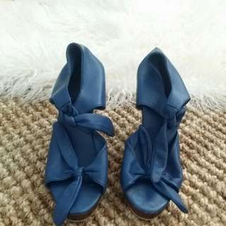 Soft Leather Heels Size 37