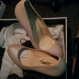 50% Disc YSL NUDE SHOES
