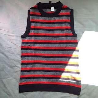 H&M Knitted Halter Neck