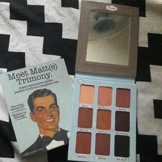 Meet Matte Trimony Eyeshadow
