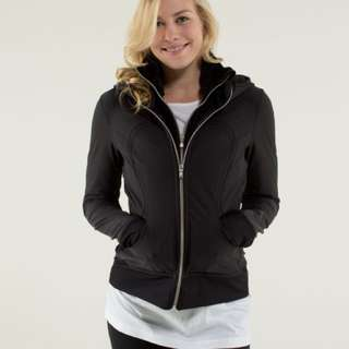 Lululemon Uba Hoodie Sweater Jacket Coat NWOT Black 6 8