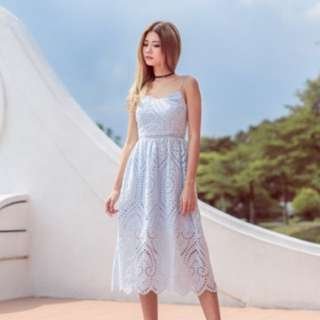 Eyelet Dress From MGPlabel