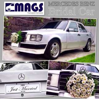Mercedes Benz BRIDAL CAR for Hire with FREEBIES