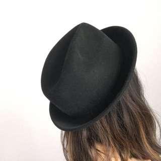 Asos Black Fedora Hat