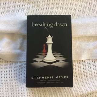 Breaking Dawn by Stephanie Myer