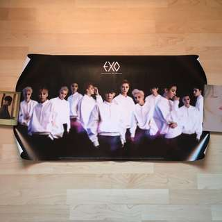 [WTS] [Pre-loved] EXO Overdose Official Poster