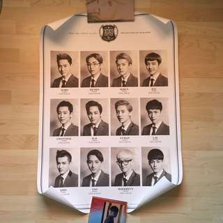 [WTS] [Pre-loved] EXO XOXO Official Poster
