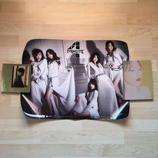 [WTS] [Pre-loved] 4minute Volume Up Official Poster