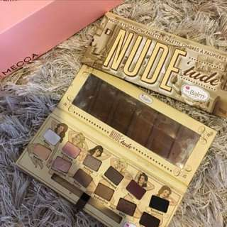 Nude Tude Palette By The Balm