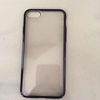 iPhone 7 phone case Transparent With Black Bazel