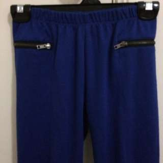 Long Blue Pants