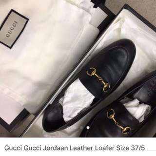 Authentic Gucci Leather Shoes