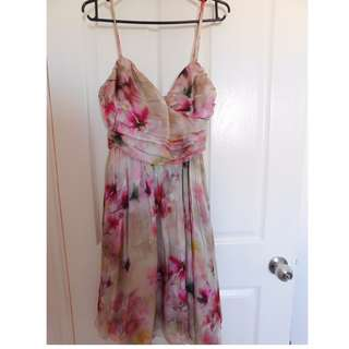 Size 8 Forever New Floral Dress