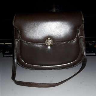 Vintage GUCCI leather Hand/shoulder Bag