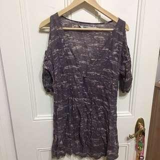 Cold Shoulder Sleeve Dress