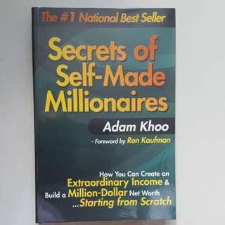 Secrets Of Self-Made Millionaires    Adam Khoo