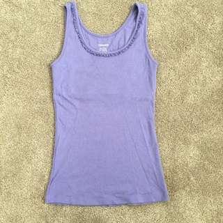 Sussan Sleepwear Purple Singlet