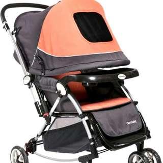 Good baby Rocker Cum Stroller In Unisex Color