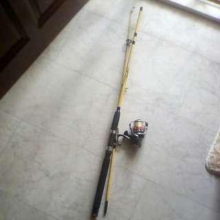Angler Works Rod N Surecatch Reel