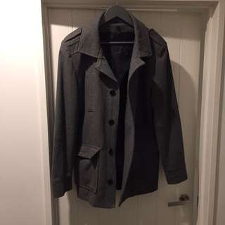 Grey Tarocash Coat