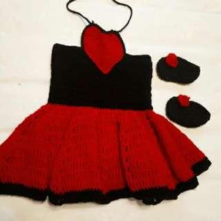 Heart Crochet Set